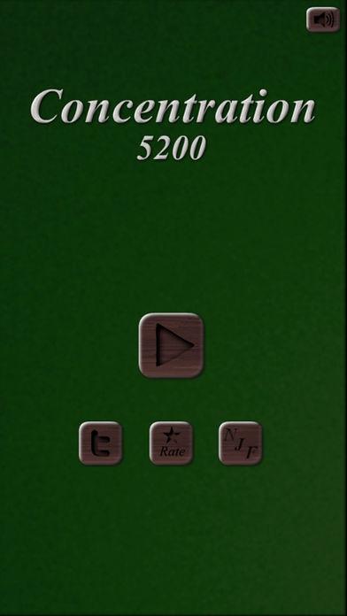 「神経衰弱 5200」のスクリーンショット 1枚目