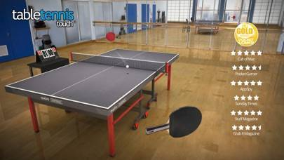「Table Tennis Touch」のスクリーンショット 1枚目