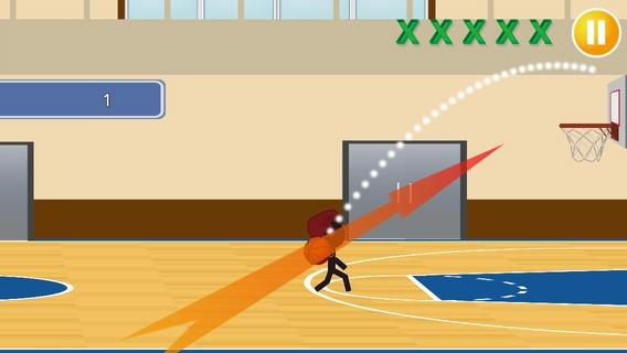 「バスケがしたいです2」のスクリーンショット 1枚目