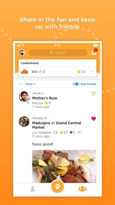 「Foursquare Swarm: Check-in App」のスクリーンショット 3枚目