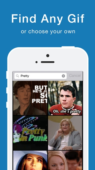 「GifShare: Post GIFs for Instagram as Videos」のスクリーンショット 2枚目