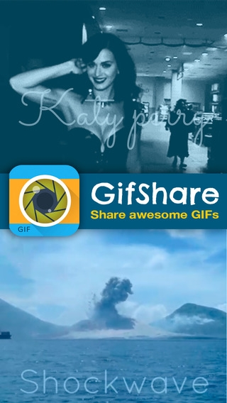 「GifShare: Post GIFs for Instagram as Videos」のスクリーンショット 1枚目