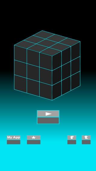 「G-Cube --3D 反転パズル--」のスクリーンショット 2枚目