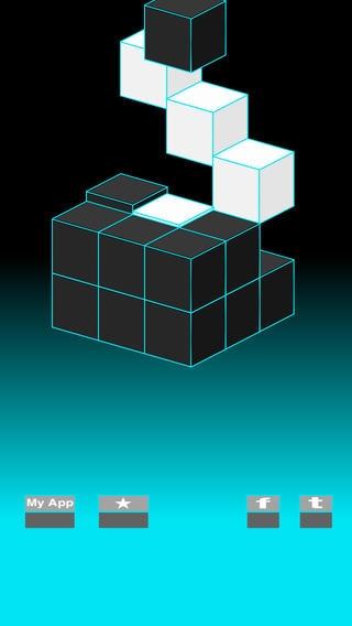 「G-Cube --3D 反転パズル--」のスクリーンショット 1枚目
