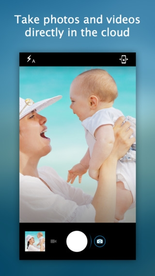 「Shutter by StreamNation - Camera with unlimited free storage」のスクリーンショット 2枚目
