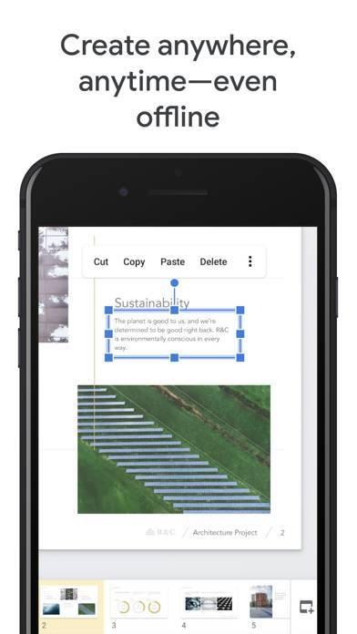 「Googleスライド」のスクリーンショット 3枚目