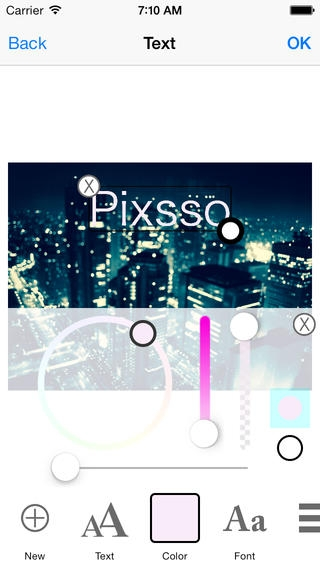 「Pixsso クラウド画像エディタ - スライドショー&ビデオ再生」のスクリーンショット 3枚目