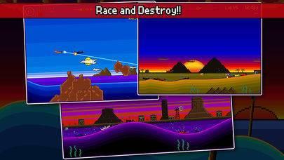 「Pixel Boat Rush」のスクリーンショット 2枚目