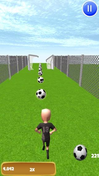 「オールスターサッカー実行:ワールドリーグへの最終戦」のスクリーンショット 1枚目
