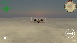 「Ground Attacker Flight Sim 3D」のスクリーンショット 1枚目