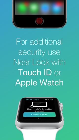 「Near Lock - 自動でMacをロック&解除」のスクリーンショット 3枚目
