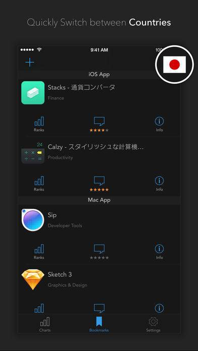 「AppHop - Handy App for Developers, Bloggers and Marketers」のスクリーンショット 3枚目