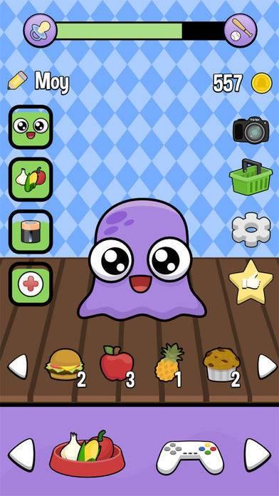 「Moy 2 - Virtual Pet Game」のスクリーンショット 2枚目