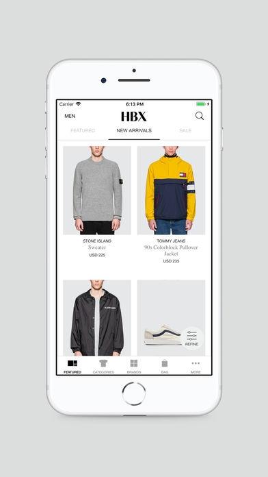 「HBX | Globally Curated Fashion」のスクリーンショット 3枚目