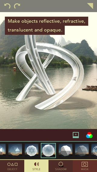 「Matter - Create and design 3D effects with photos」のスクリーンショット 2枚目