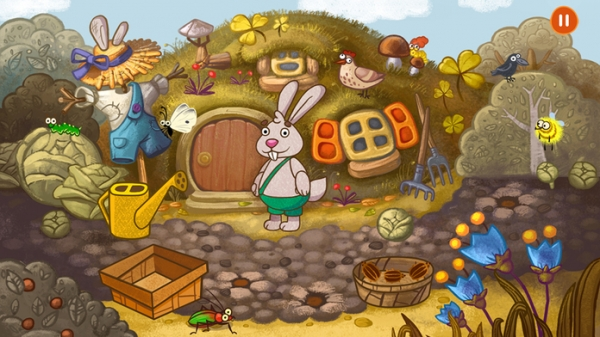 「Forestry - 森の動物と子供向けゲーム !」のスクリーンショット 2枚目