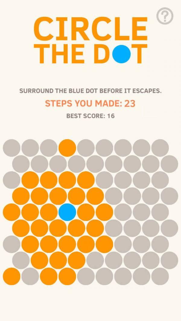 「Circle The Dot」のスクリーンショット 1枚目