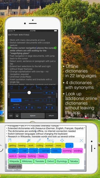 「Textkraft Pocket」のスクリーンショット 2枚目