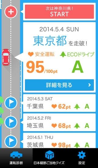 「もっと、もっと走ろう日本!」のスクリーンショット 1枚目