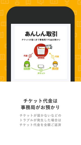 「チケットキャンプ 安心チケット売買」のスクリーンショット 3枚目