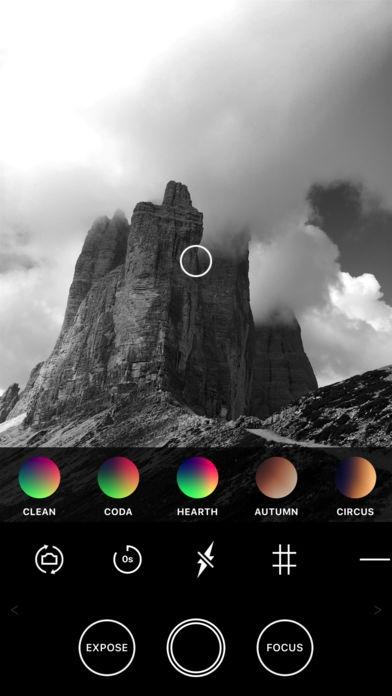 「Obscura Camera」のスクリーンショット 3枚目
