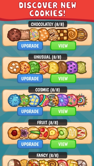 「Cookie Collector 2 - Free Clicker & Incremental Game」のスクリーンショット 3枚目