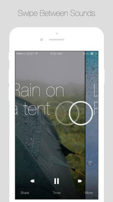 「Relax Rain」のスクリーンショット 2枚目