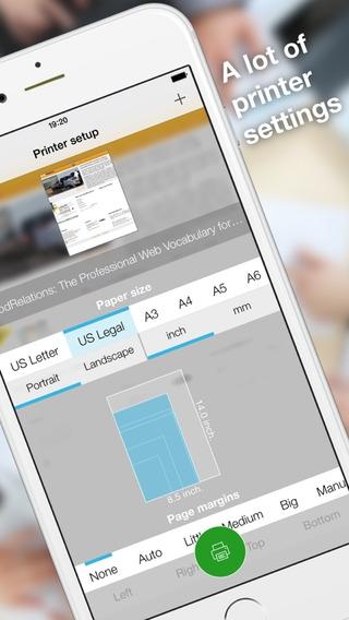 「Printability - print Safari page to PDF」のスクリーンショット 2枚目