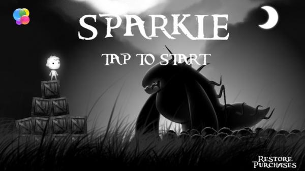 「Sparkle - A Dark Adventure Game」のスクリーンショット 1枚目