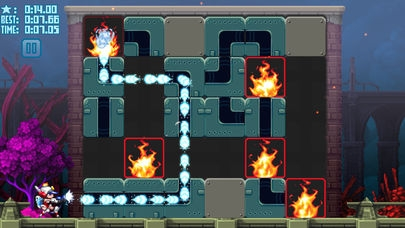 「Mighty Switch Force! Hose It Down!」のスクリーンショット 2枚目