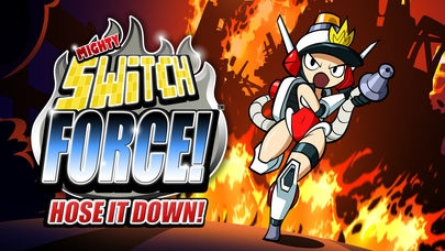 「Mighty Switch Force! Hose It Down!」のスクリーンショット 1枚目
