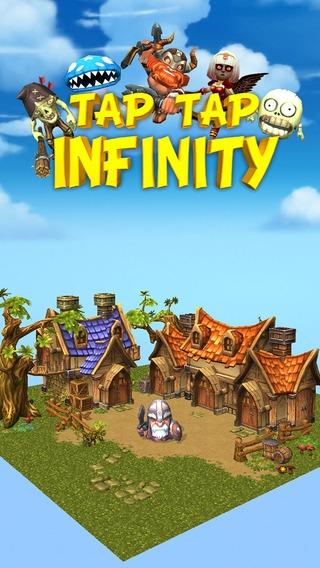 「Tap Tap Infinity - Idle RPG」のスクリーンショット 1枚目