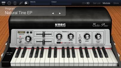 「KORG Module Pro」のスクリーンショット 2枚目