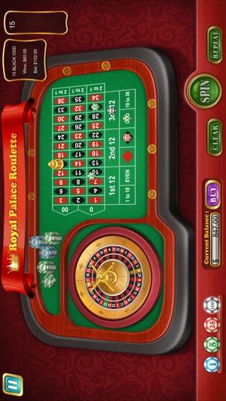 「Royal Palace Roulette」のスクリーンショット 2枚目
