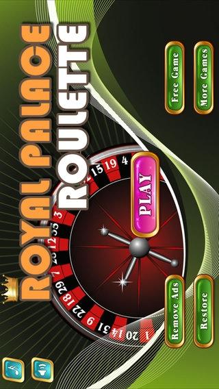 「Royal Palace Roulette」のスクリーンショット 1枚目