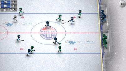 「Stickman Ice Hockey」のスクリーンショット 2枚目
