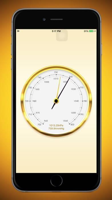 「気圧計」のスクリーンショット 1枚目