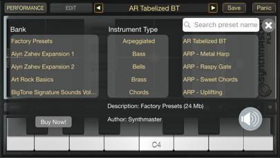 「SynthMaster Player」のスクリーンショット 2枚目