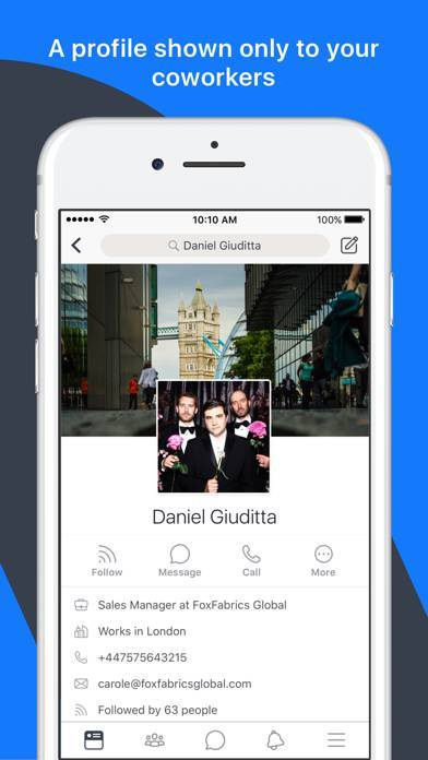 「Workplace by Facebook」のスクリーンショット 3枚目
