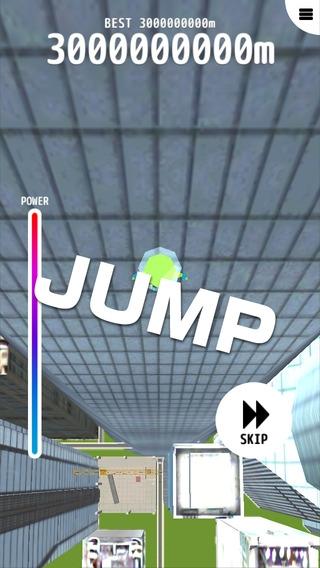 「無限トランポリン3D」のスクリーンショット 3枚目