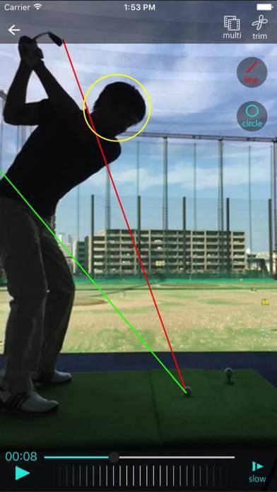 「ゴルフスイング・カメラ - KiZuKi」のスクリーンショット 1枚目