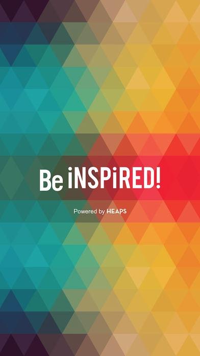 「Be inspired!」のスクリーンショット 1枚目