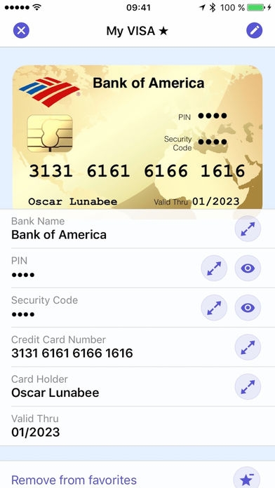 「oneSafe 4 - password manager」のスクリーンショット 3枚目