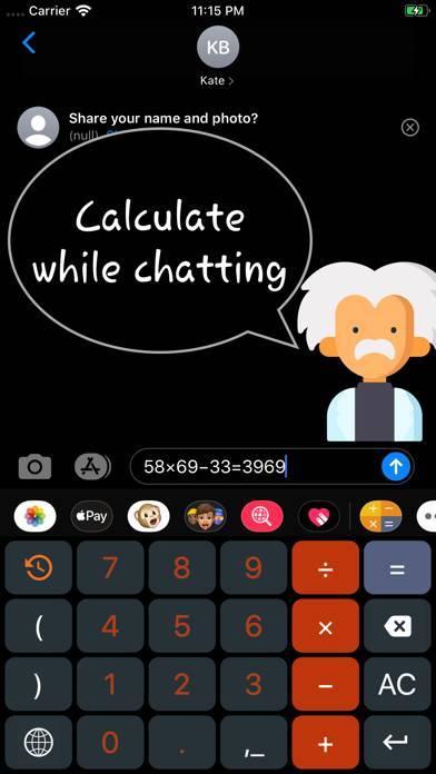 「Calcvier - Keyboard Calculator」のスクリーンショット 3枚目