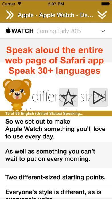 「Translate 2 for Safari」のスクリーンショット 3枚目
