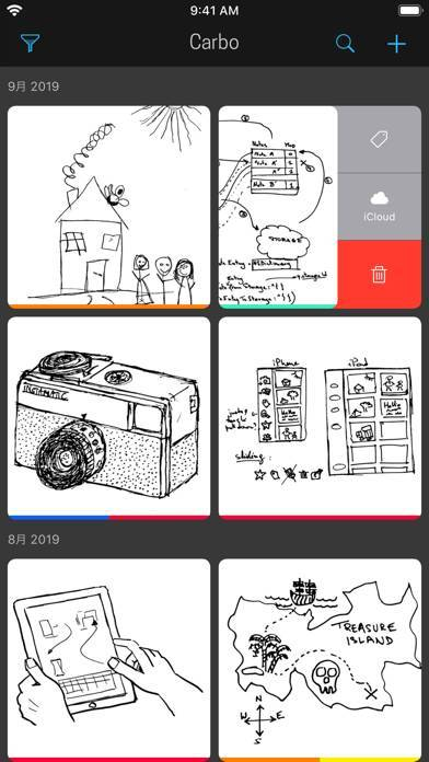 「Carbo › Digital Notebook」のスクリーンショット 1枚目