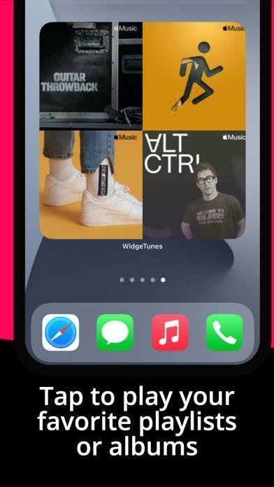 「WidgeTunes - Music Widgets」のスクリーンショット 3枚目