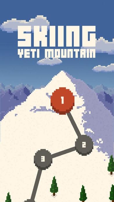 「Skiing Yeti Mountain」のスクリーンショット 1枚目