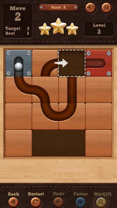 「Roll the Ball® - slide puzzle」のスクリーンショット 1枚目