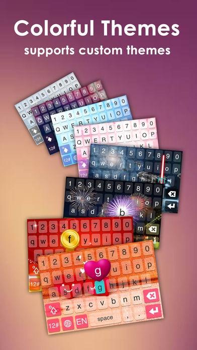「IQQI Keyboard」のスクリーンショット 2枚目